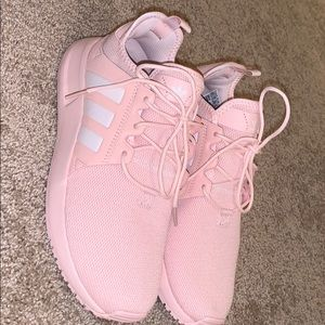 Pink Adidas tennis Shoes ONLY WORN ONCE